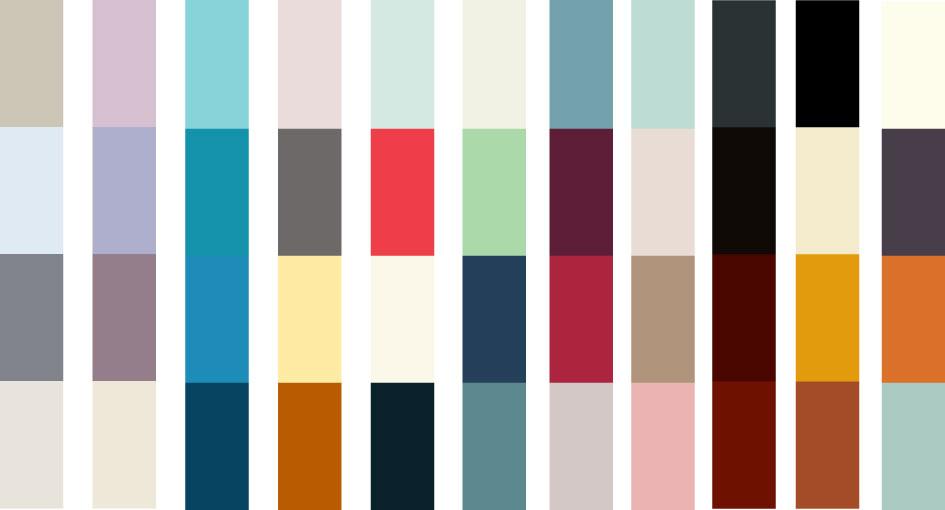 ¿Qué criterio elijo al momento de pensar colores?